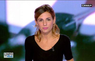 Alice Darfeuille L'info du Vrai Canal+ le 12.10.2017