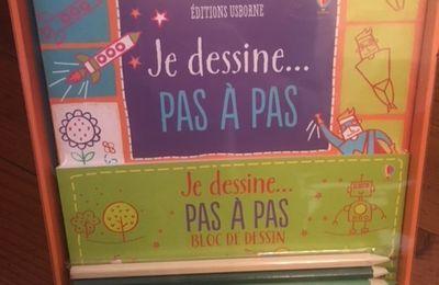 JE DESSINE PAS À PAS (EDITIONS USBORNE)