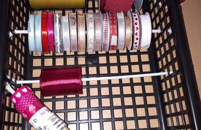 Astuce rangement ruban, masking tape ...