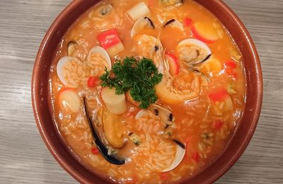 Arroz de marisco ou Riz aux fruits de mer express