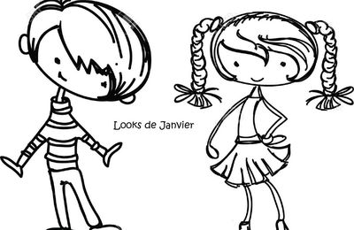 Les petits looks de Janvier !