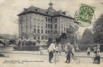La Chaux-de-Fonds - Collège de la Charrière