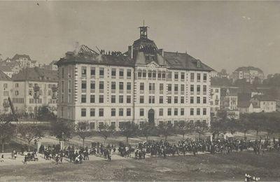 La Chaux-de-Fonds - Collège et Rue de la Charrière
