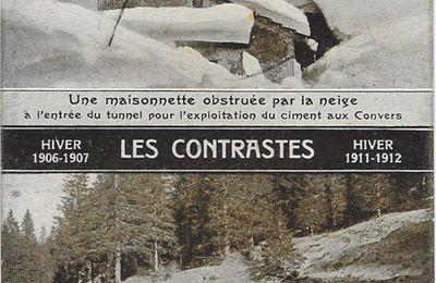 La Chaux-de-Fonds - Les Contrastes Hivernaux - 1907 - 1912