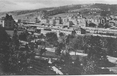 La Chaux-de-Fonds - Vue Générale depuis les Crétêts