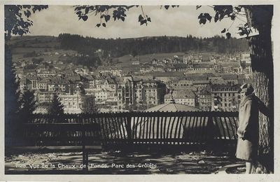 La Chaux-de-Fonds - Vue depuis le Parc des Crétêts