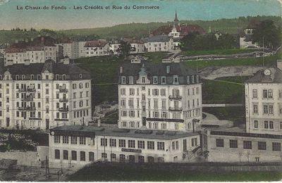 La Chaux-de-Fonds - Les Crétêts et Rue du Commerce