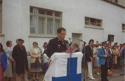 La Chaux-de-Fonds - Croix-Bleue - Juin 1982 - Discours