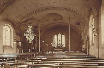 La Chaux-de-Fonds - Intérieur de l'ancienne église catholique romaine