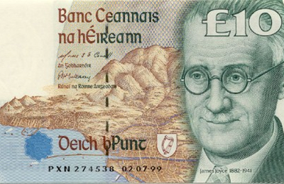 JAMES JOYCE BANK NOTE