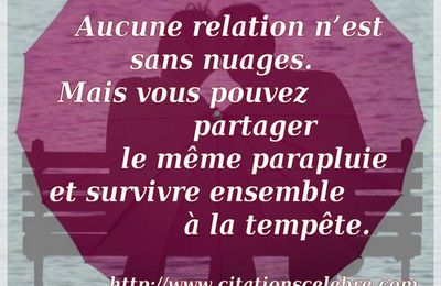 Citation de couple en image