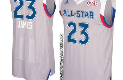 maillot nba All Star 2017