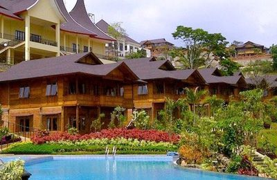Sewa villa di kota batu malang murah