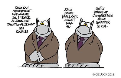 """Le Chat passe à table"" de Geluck"