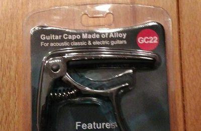 Capodastre de Guitare Rayzm