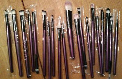 Pinceaux Maquillage 20 pcs VWH