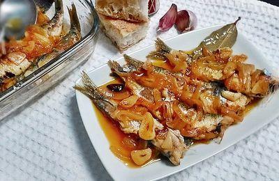 Escabeche de Sardinas - PROYECTO ROCA-Las mejores recetas de mi madre