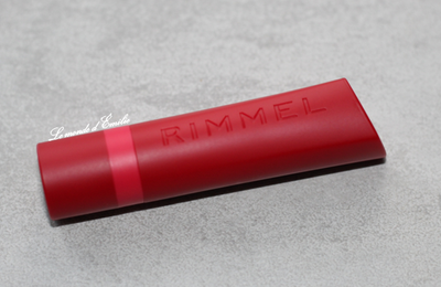 "Rouge à lèvres ""The only 1 mat"" de Rimmel"