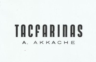 Note de lecture Tacfarinas  Mohamed Bouhamidi, ci-joint Tacfarinas en PDF