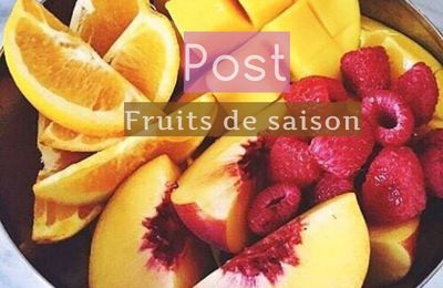 Fruits du mois d'Octobre.