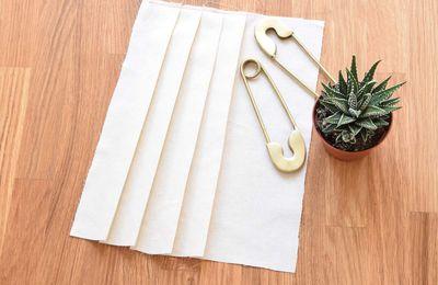 Créer sa jupe à plis