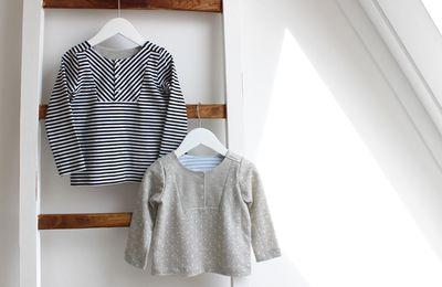 T Shirt à plastron pour bébé et enfant