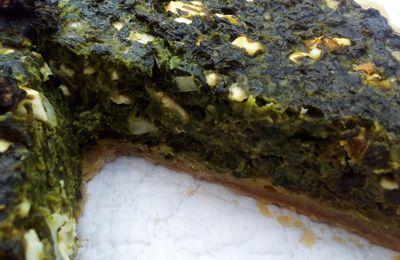 La tarte aux épinards de Simon
