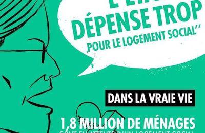 Pour lutter contre les idées reçues face à la pauvreté... 9 affiches...