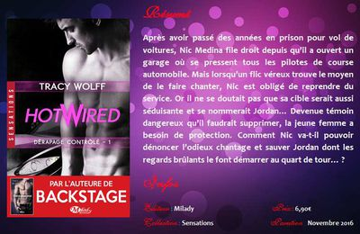 Dérapage contrôlé (#1 Hotwired) de Tracy Wolff