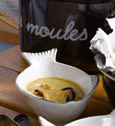 Soupe De Moules Au Cidre