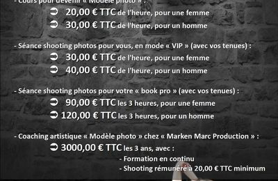 Besoin de prendre une photo ?...ou de faire un shooting ?...