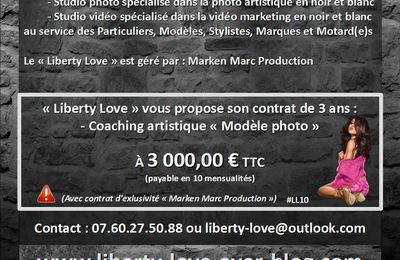 LIBERTY LOVE (#LibertyLove #LL) (#TopPro2016) : Devenez Modèle photo