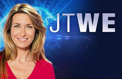 Le JT du week end 13h de TF1 du 25 juin