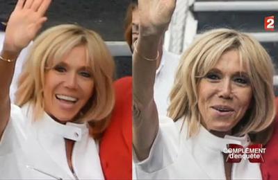Les photos de Brigitte Macron sont-elles retouchées ?