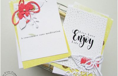 2 petites cartes made by Fati!
