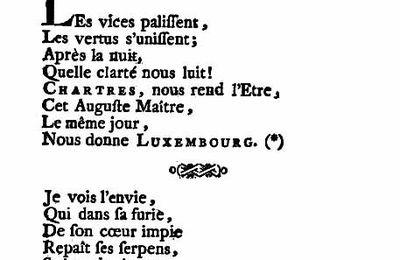 Splendeurs et misères du duc de Chartres (2/3)