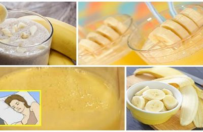 Recette de thé de cannelle de banane pour le sommeil profond (fonctionne mieux que les pilules de sommeil!)