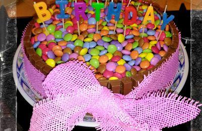 Gâteau d'anniversaire au citron