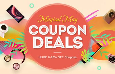 Magical may gearbest.com coupon deals