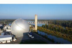 Le musée de l'atome (la boule)