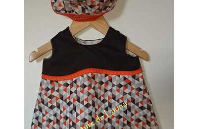 La petite robe Citrouillette
