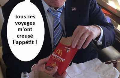 Trump à Paris.