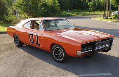 "Dodge Charger 1969 ""Général Lee"""