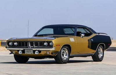 1971 Plymouth 'Cuda 440 Six Pack