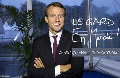 Seul capable de rassembler les Français de gauche, de droite et du centre, je soutiens Emmanuel Macron à l'élection présidentielle