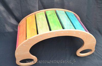 Le rainbow rocker ou comment jouer au pays des Bisounours