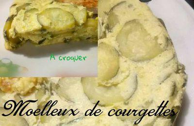 MOELLEUX DE COURGETTES