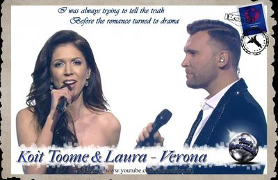 Estonia - Koit Toome and Laura (Verona) Lyrics