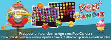 Pop Candiz, découvrez le parc d'attractions proposé dans le jeu en vidéo