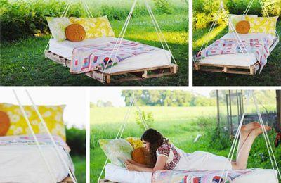 Fabriquer des meubles avec des palettes !